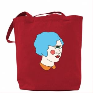 Bag Girl with one eye - PrintSalon
