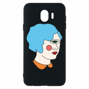 Phone case for Samsung J4 Girl with one eye - PrintSalon
