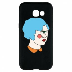 Phone case for Samsung A5 2017 Girl with one eye - PrintSalon
