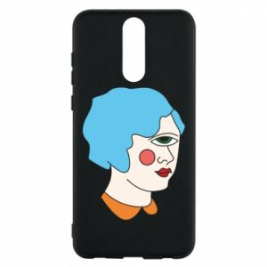 Phone case for Huawei Mate 10 Lite Girl with one eye - PrintSalon