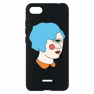 Phone case for Xiaomi Redmi 6A Girl with one eye - PrintSalon