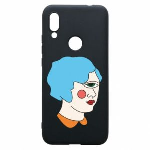 Phone case for Xiaomi Redmi 7 Girl with one eye - PrintSalon