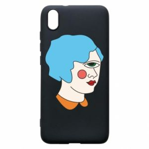 Phone case for Xiaomi Redmi 7A Girl with one eye - PrintSalon