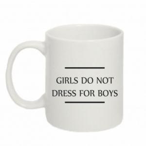Kubek 330ml Girls do not dress for boys