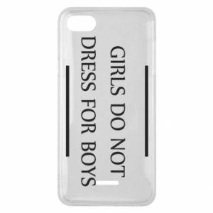 Etui na Xiaomi Redmi 6A Girls do not dress for boys