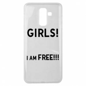 Etui na Samsung J8 2018 Girls I am free