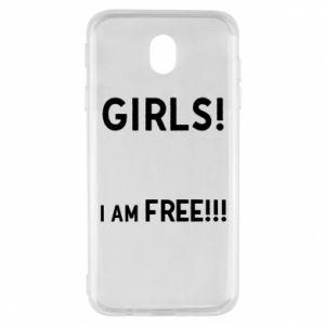 Etui na Samsung J7 2017 Girls I am free