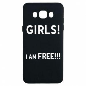 Etui na Samsung J7 2016 Girls I am free