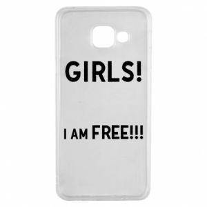 Etui na Samsung A3 2016 Girls I am free