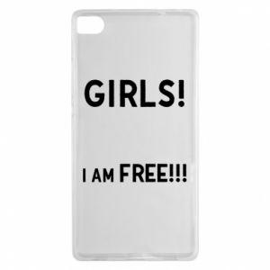 Etui na Huawei P8 Girls I am free
