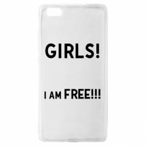 Etui na Huawei P 8 Lite Girls I am free