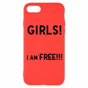 Etui na iPhone SE 2020 Girls I am free