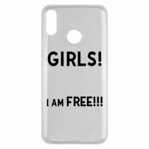 Etui na Huawei Y9 2019 Girls I am free
