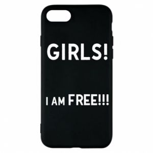 Phone case for iPhone 7 Girls I am free