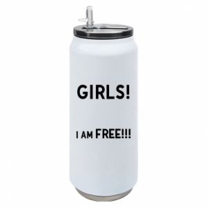 Puszka termiczna Girls I am free