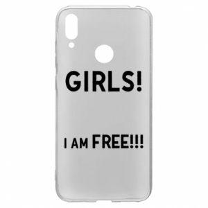 Etui na Huawei Y7 2019 Girls I am free