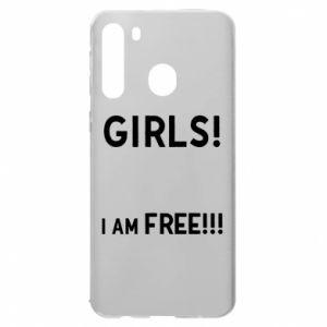 Etui na Samsung A21 Girls I am free