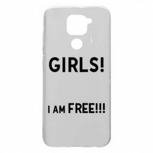 Etui na Xiaomi Redmi Note 9/Redmi 10X Girls I am free