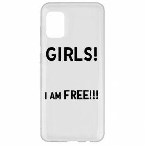 Etui na Samsung A31 Girls I am free