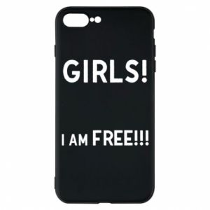 Phone case for iPhone 7 Plus Girls I am free
