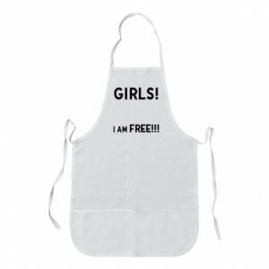 Fartuch Girls I am free