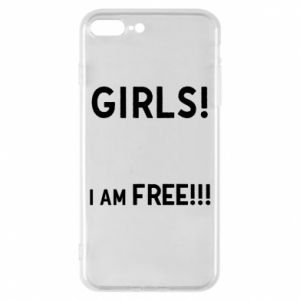 Phone case for iPhone 8 Plus Girls I am free