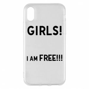 Phone case for iPhone X/Xs Girls I am free