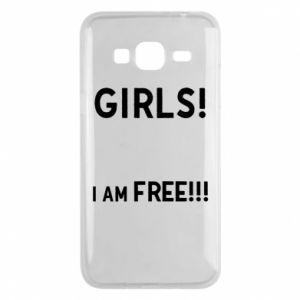 Phone case for Samsung J3 2016 Girls I am free