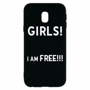 Phone case for Samsung J3 2017 Girls I am free