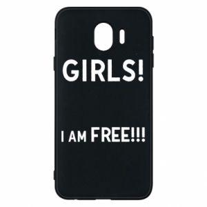 Phone case for Samsung J4 Girls I am free