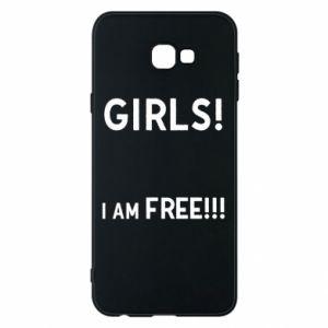 Phone case for Samsung J4 Plus 2018 Girls I am free