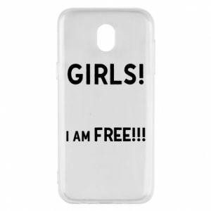 Phone case for Samsung J5 2017 Girls I am free
