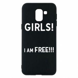Phone case for Samsung J6 Girls I am free
