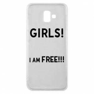 Phone case for Samsung J6 Plus 2018 Girls I am free