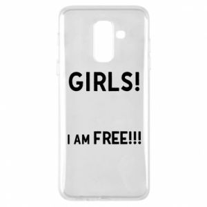 Phone case for Samsung A6+ 2018 Girls I am free