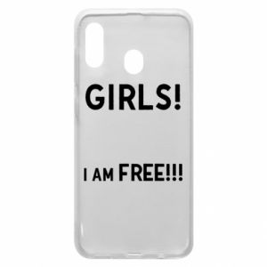 Phone case for Samsung A20 Girls I am free