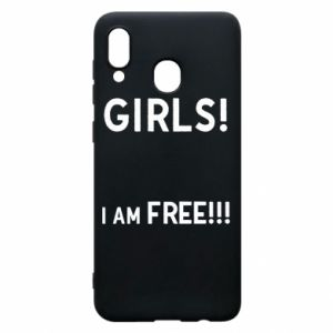 Phone case for Samsung A30 Girls I am free