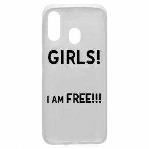 Phone case for Samsung A40 Girls I am free