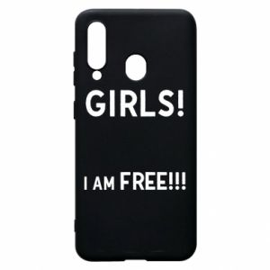 Phone case for Samsung A60 Girls I am free