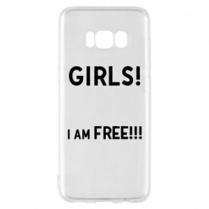 Phone case for Samsung S8 Girls I am free