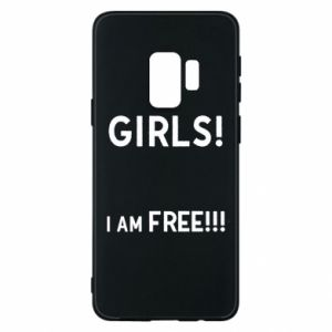 Phone case for Samsung S9 Girls I am free