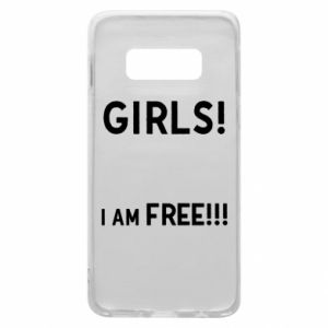 Phone case for Samsung S10e Girls I am free