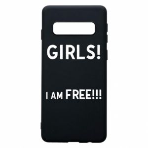 Phone case for Samsung S10 Girls I am free