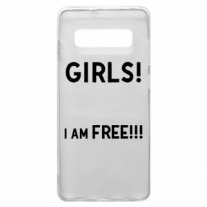 Phone case for Samsung S10+ Girls I am free