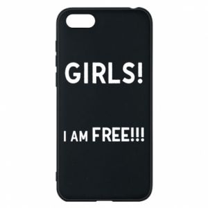 Phone case for Huawei Y5 2018 Girls I am free