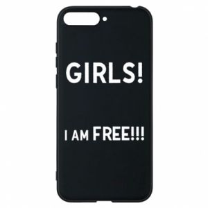 Phone case for Huawei Y6 2018 Girls I am free