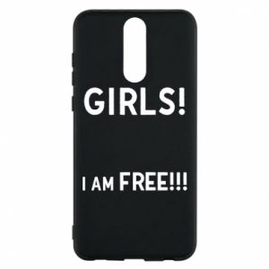 Phone case for Huawei Mate 10 Lite Girls I am free