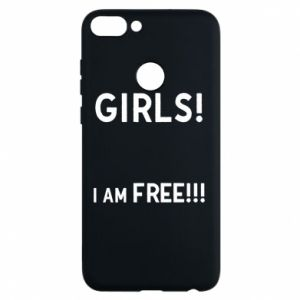 Phone case for Huawei P Smart Girls I am free