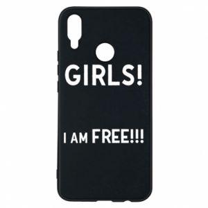 Phone case for Huawei P Smart Plus Girls I am free