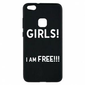 Phone case for Huawei P10 Lite Girls I am free